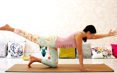 Jóga pro sebelásku: jóga na doma