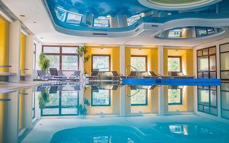 Krásné Vídeňské Alpy ve Sporthotelu am Semmering *** uprostřed přírody s bazénem, saunou a polopenzí