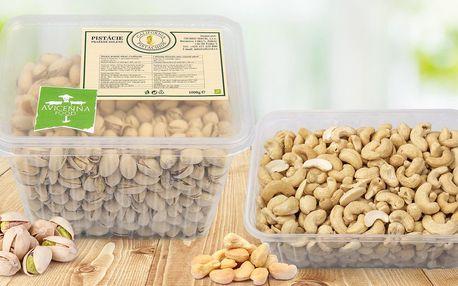 Pistácie, mandle a kešu ořechy v prémiové kvalitě