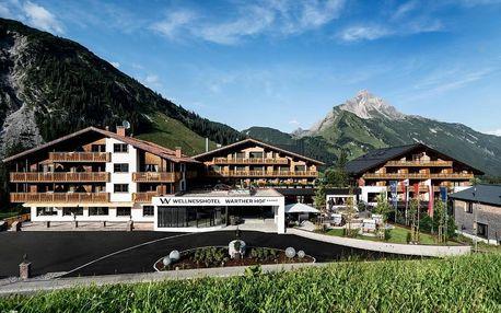 Rakouské Alpy: Wellnesshotel Warther Hof