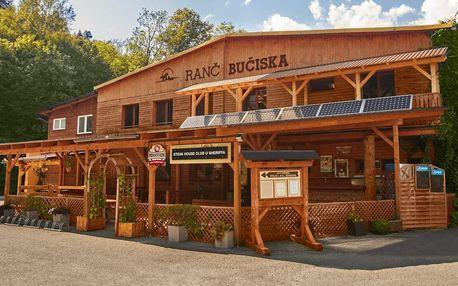 Ranč Bučiska: polopenze, wellness a zážitky