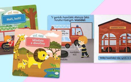 Otoč, posuň: Zábavné pohyblivé knihy pro nejmenší