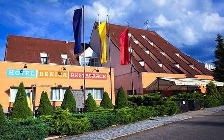 Benešov u Prahy a zámku Konopiště: Pohodový pobyt v Hotelu Benica *** s bowlingem, golfem a polopenzí