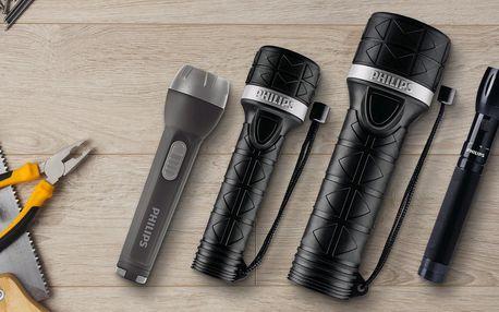 LED svítilny Philips s dlouhou výdrží i dosahem