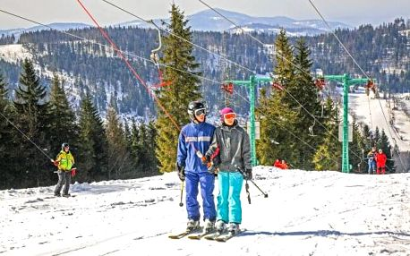 Polské Beskydy: Parádní zimní pobyt u ski areálů v Hotelu Alpin *** s polopenzí, wellness a skibusem