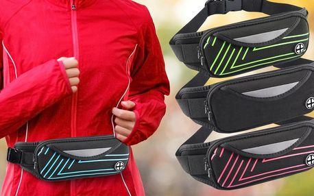 Voděodolné sportovní pouzdro kolem pasu: 5 barev