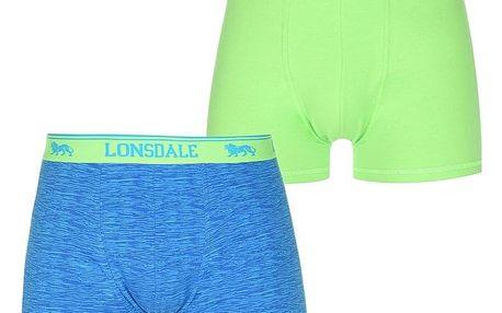 Pánské pohodlné boxerky Lonsdale - 2kusy