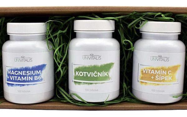 Doplňky stravy UNIVITALIS v dárkovém balení