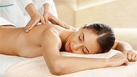 60minutová klasická masáž nebo lymfodrenáž nohou