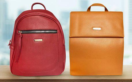 Dámské batohy do města i do práce: 2 druhy, 5 barev