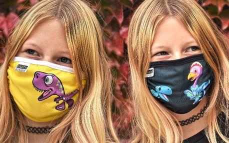 Roušky pro děti i dospělé: 18 milých motivů