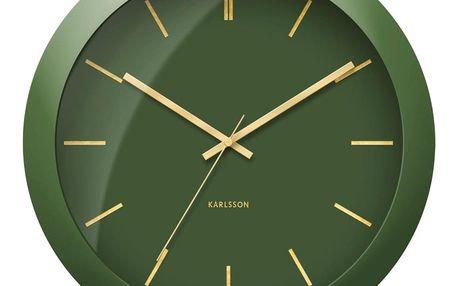 Karlsson KA5840GR nástěnné hodiny