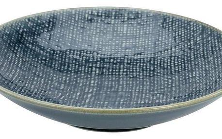 Talíř Na Polevku Canvas, Ø: 22cm, Modrá