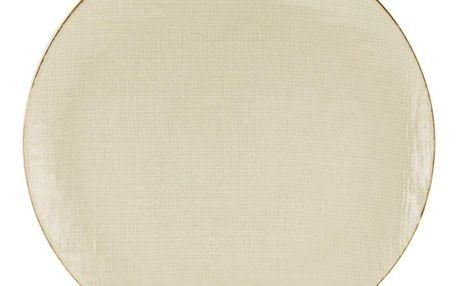 Talíř Jídelní Canvas, Ø: 28cm, Krémová