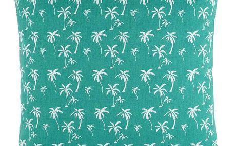 Dekorační Polštář Lady Palms, 45/45 Cm, Zelená