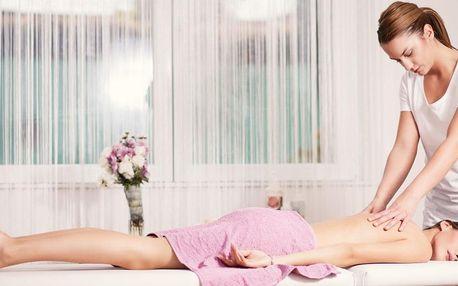Regenerační masáž partie dle vašeho výběru