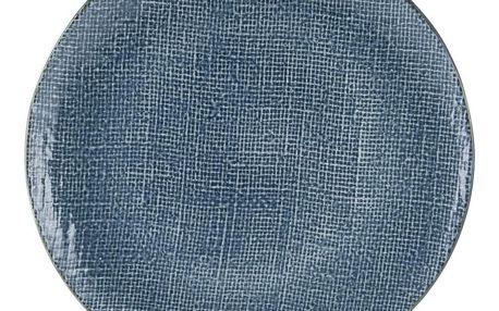 Talíř Jídelní Canvas, Ø: 28cm, Modrá