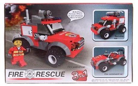 Dětská stavebnice hasiči 3v1