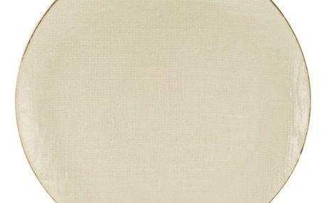 Dezertní Talíř Canvas, Ø: 22cm, Krémová