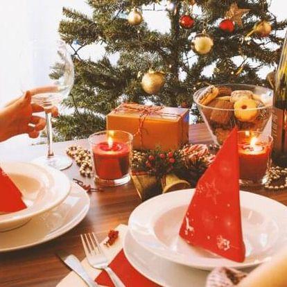 Krkonoše: Vánoce či Silvestr v Penzionu Eden s polopenzí, konzumací kávy a čaje + 50% sleva na vířivku
