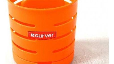 CURVER 31750 Odkapávač na příbory KULATÝ - oranžový