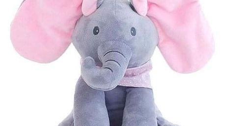 Zpívající plyšový slon - dodání do 2 dnů