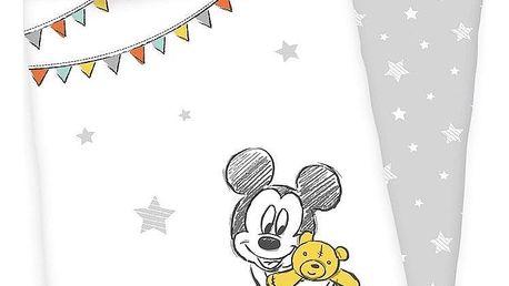 Herding Povlečení pro miminka Mickey Mouse 100x135/40x60 cm