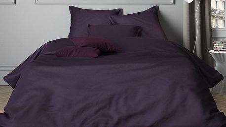 Mistral home Mistral Home povlečení bavlněný satén Uni Purple