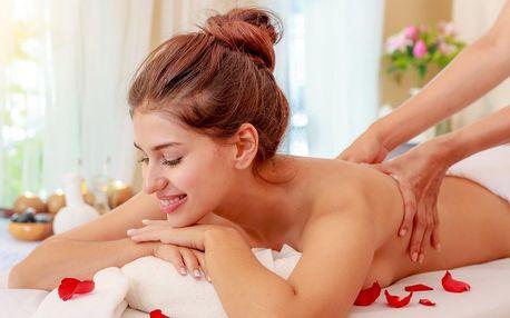100 min. relaxu: dvě masáže dle výběru a oxygenoterapie
