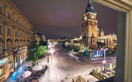 Polsko: Pobyt v Krakově přímo na náměstí v historickém centru v Hotelu Imperial *** se snídaní + dítě zdarma