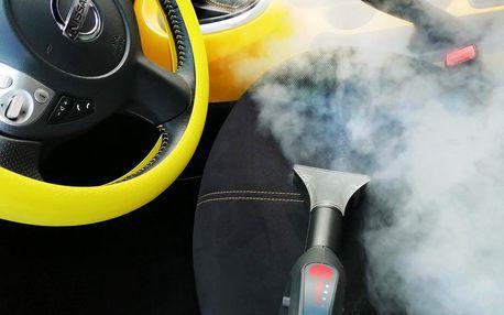 Tepování aut suchou parou a dezinfekce ozonem