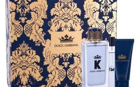 Dolce&Gabbana K dárková kazeta pro muže toaletní voda 100 ml + sprchový gel 50 ml + toaletní voda 10 ml