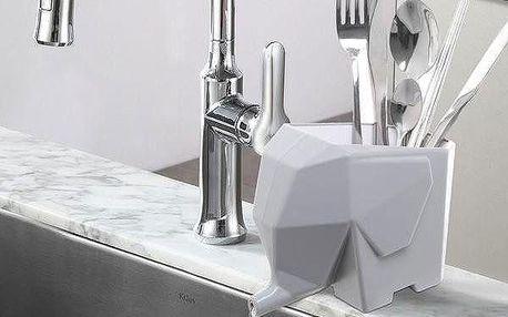 Odkapávač na příbory ve tvaru slona
