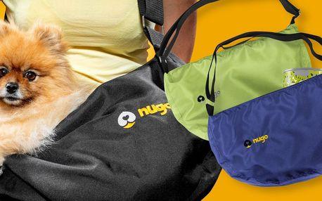 Oceněné Nugo tašky na cestování s pejsky: 7 barev