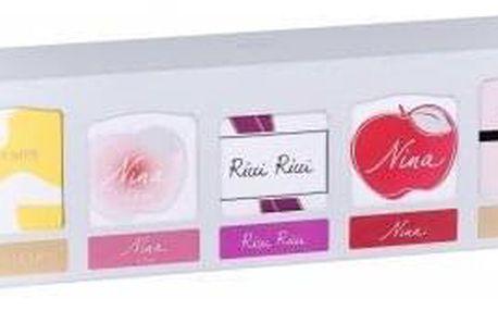 Nina Ricci Collection dárková kazeta pro ženy edp L´Extase 4 ml + edt Nina 4 ml + edp Ricci Ricci 4 ml + edt L´Air du Temps 4 ml + edt Nina L´eau 4 ml miniatura