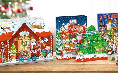 Oslaďte si advent: kalendáře Kinder a Haribo