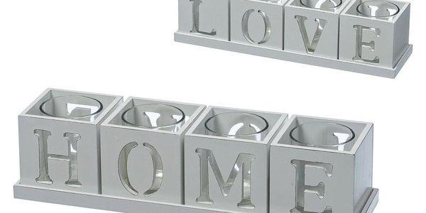 Držák Na Čajovou Svíčku Home & Love
