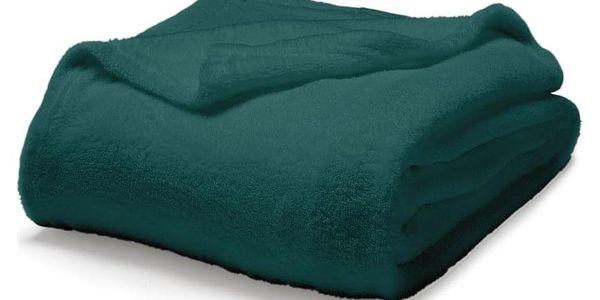 TODAY TODAY Maxi fleece deka 220x240 cm Emeraude - barva jehličí