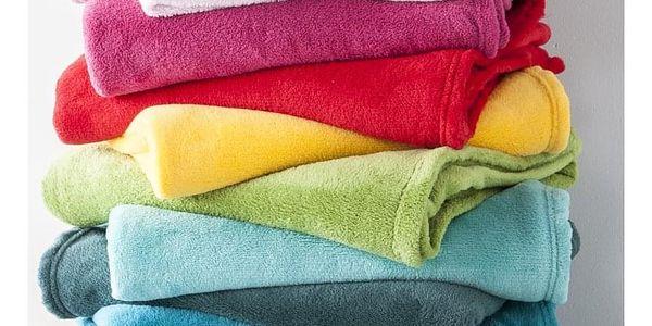 TODAY TODAY Maxi fleece deka 220x240 cm Emeraude - barva jehličí2