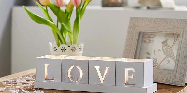 Držák Na Čajovou Svíčku Home & Love2