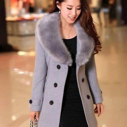 Dámský zimní kabát Alzie