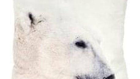 Polštář s výplní. Lední medvěd design. POL223