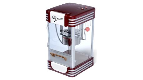 Jago 74123 Popcornovač v retro stylu, 220-240 V, 50-60 Hz