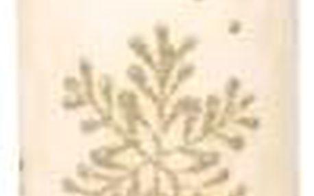 Svíčka vánoční VLOČKA VÁLEC d7x14cm