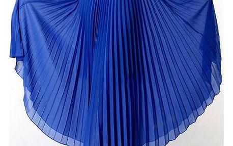 Plisovaná dlouhá sukně - různé barvy