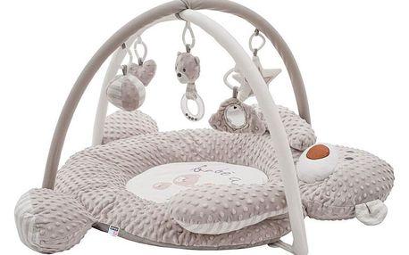 PlayTo Luxusní harcí deka z Minky s melodií medvídek