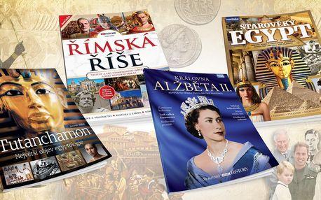 Knihy o historii: Egypt, Římská říše i Alžběta II.