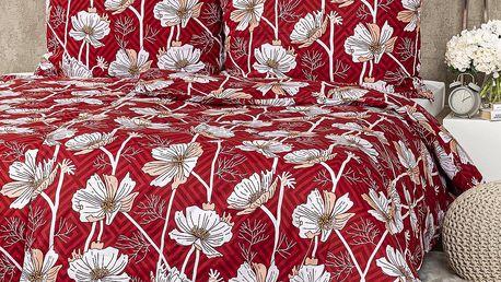 4Home Bavlněné povlečení Luční květina, 220 x 200 cm, 2 ks 70 x 90 cm