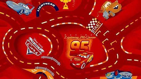 Dětský koberec The World of Cars 10 200 x 200 cm-SLEVA