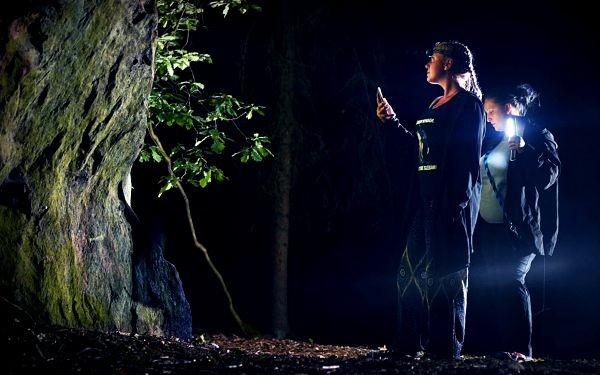 Lovci duchů: venkovní úniková hra pro 1–4 hráče
